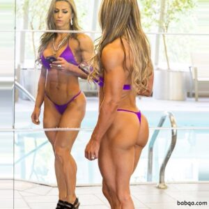 hot girl with muscular body and toned biceps photo from facebook