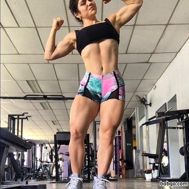 sexy lady with muscle body and muscle ass image from flickr