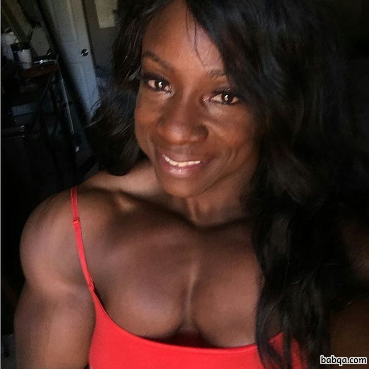 awesome lady with fitness body and muscle ass photo from linkedin