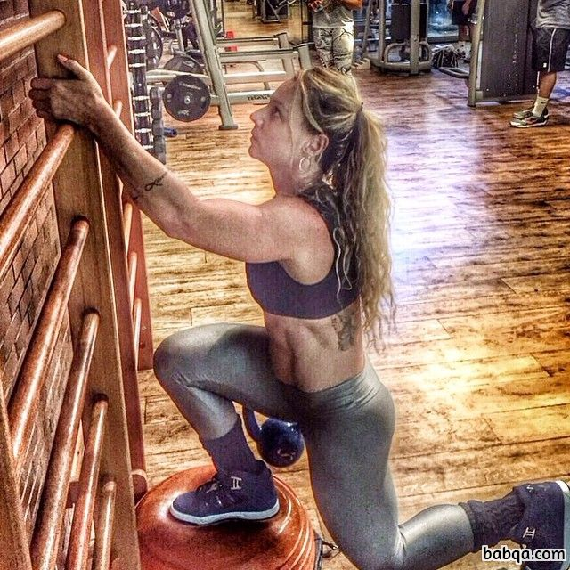 hot babe with strong body and toned booty post from g+