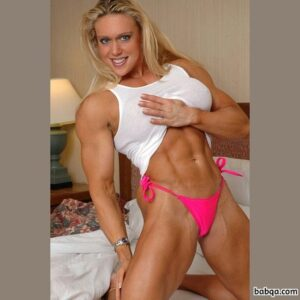 hottest female with muscle body and toned arms post from facebook