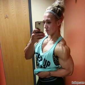 spicy girl with strong body and muscle ass image from facebook
