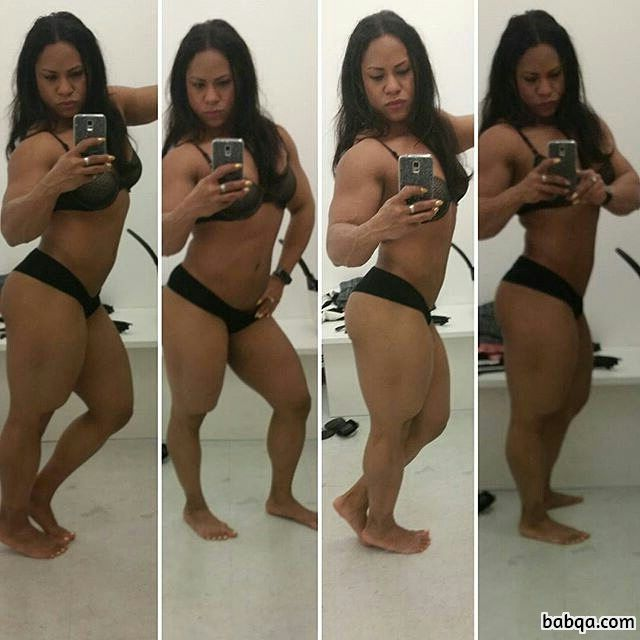 perfect lady with strong body and muscle biceps image from tumblr