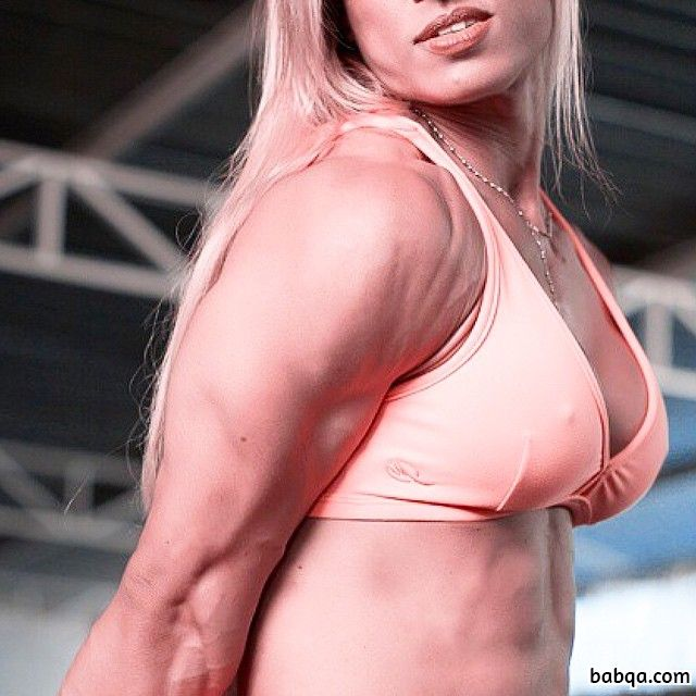 hot female with muscle body and toned bottom pic from facebook