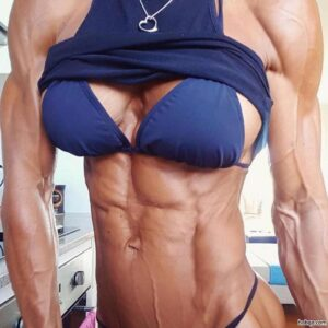 sexy female with strong body and muscle arms photo from tumblr