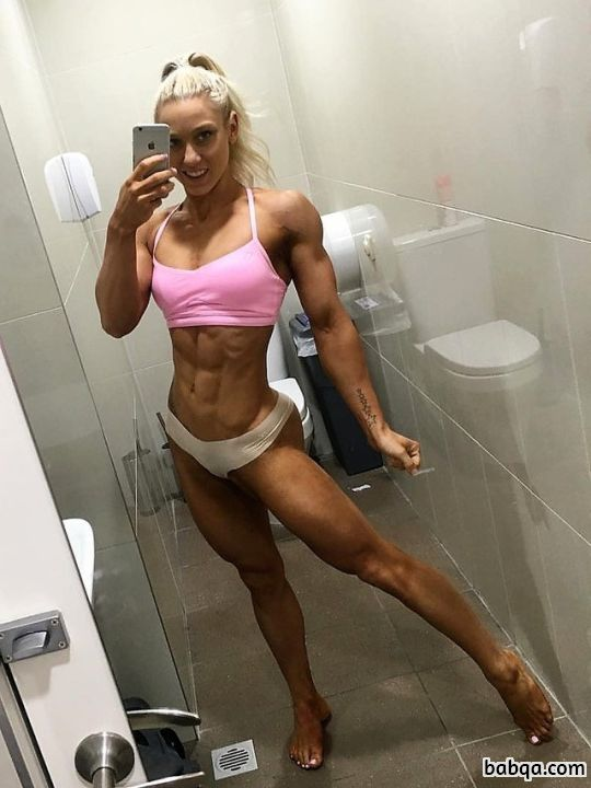 hot female with fitness body and toned ass pic from tumblr