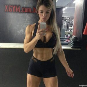 sexy lady with muscle body and toned bottom image from reddit