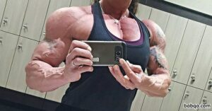 spicy female bodybuilder with muscle body and muscle booty image from tumblr