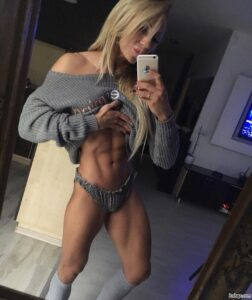 spicy girl with strong body and muscle ass image from g+