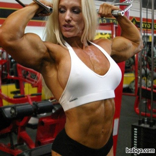 awesome female bodybuilder with muscular body and muscle ass pic from reddit