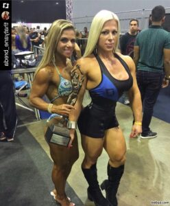 hot girl with strong body and muscle biceps repost from reddit