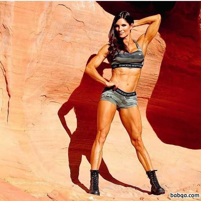 beautiful female bodybuilder with strong body and muscle biceps image from tumblr