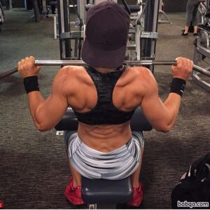spicy woman with muscular body and toned ass photo from linkedin