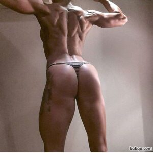 hottest woman with muscular body and toned booty picture from g+