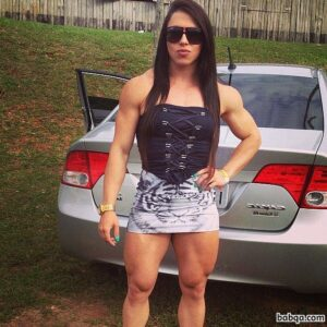 hottest chick with muscle body and muscle legs post from tumblr
