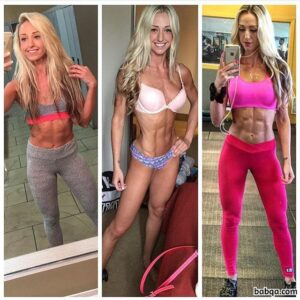 awesome woman with fitness body and toned bottom post from g+