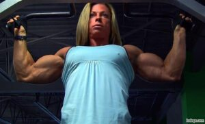 awesome woman with muscle body and muscle ass post from flickr