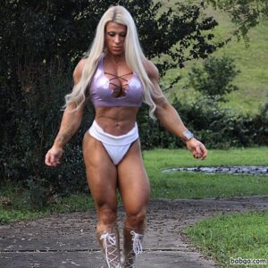 hottest female bodybuilder with muscular body and muscle ass pic from flickr