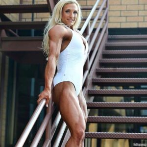perfect female bodybuilder with muscular body and muscle ass repost from flickr