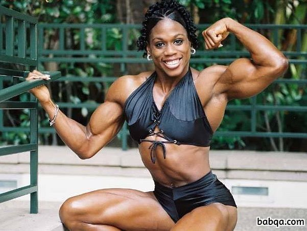 spicy female with strong body and muscle arms post from tumblr