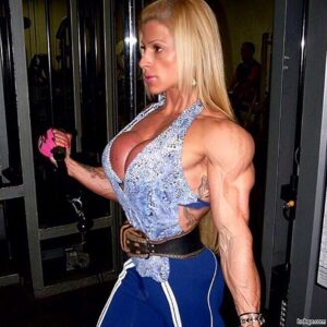 spicy woman with strong body and muscle bottom picture from g+
