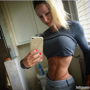 awesome chick with muscle body and muscle booty image from tumblr