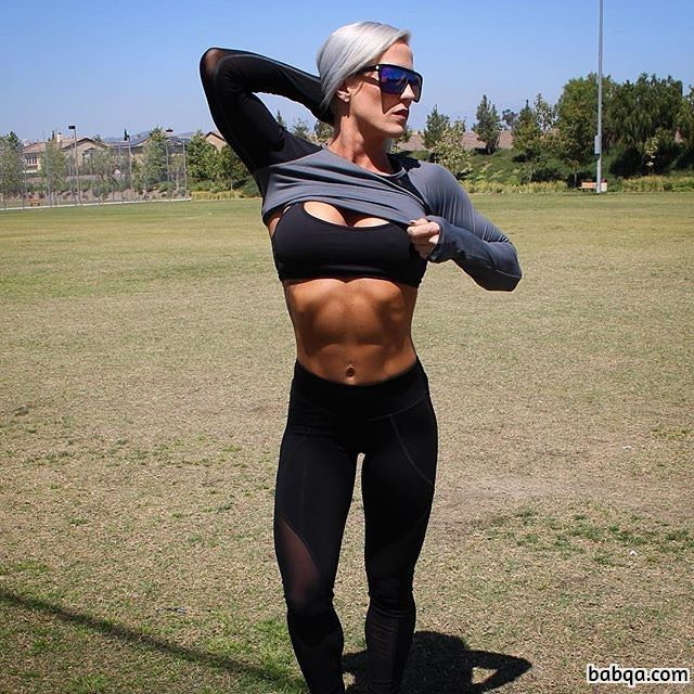perfect chick with fitness body and toned arms repost from linkedin