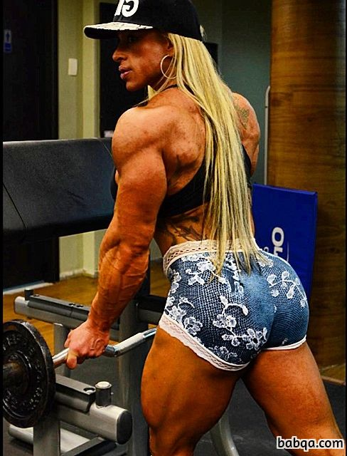 hottest girl with muscle body and toned biceps pic from flickr
