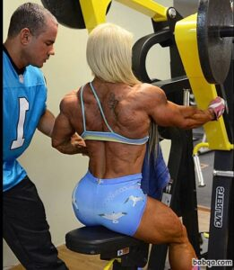 spicy lady with fitness body and muscle ass picture from tumblr