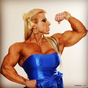 spicy chick with strong body and muscle biceps image from tumblr