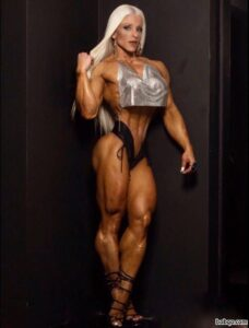 hot female bodybuilder with muscle body and muscle bottom picture from g+