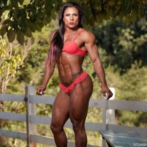 awesome lady with muscle body and muscle bottom repost from reddit