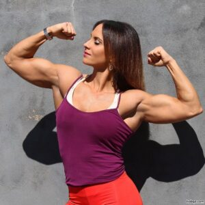 perfect female bodybuilder with muscular body and toned booty picture from g+