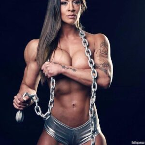 awesome woman with fitness body and toned arms repost from g+