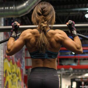 hottest woman with fitness body and muscle arms post from tumblr