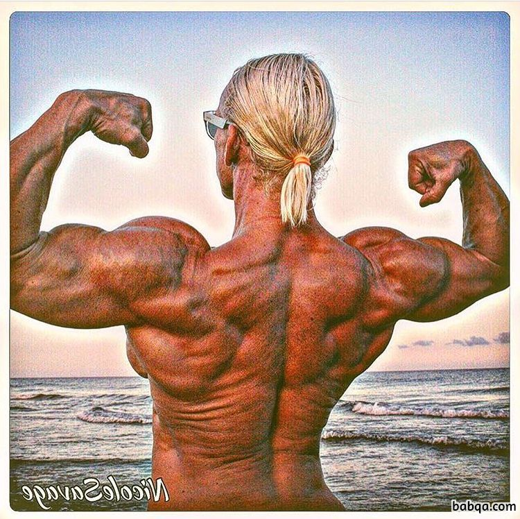 spicy female with fitness body and toned biceps post from facebook