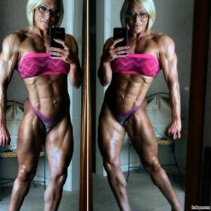 perfect girl with strong body and muscle legs photo from g+