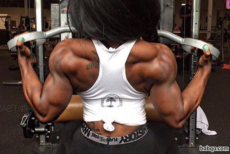 sexy female bodybuilder with strong body and toned legs image from tumblr