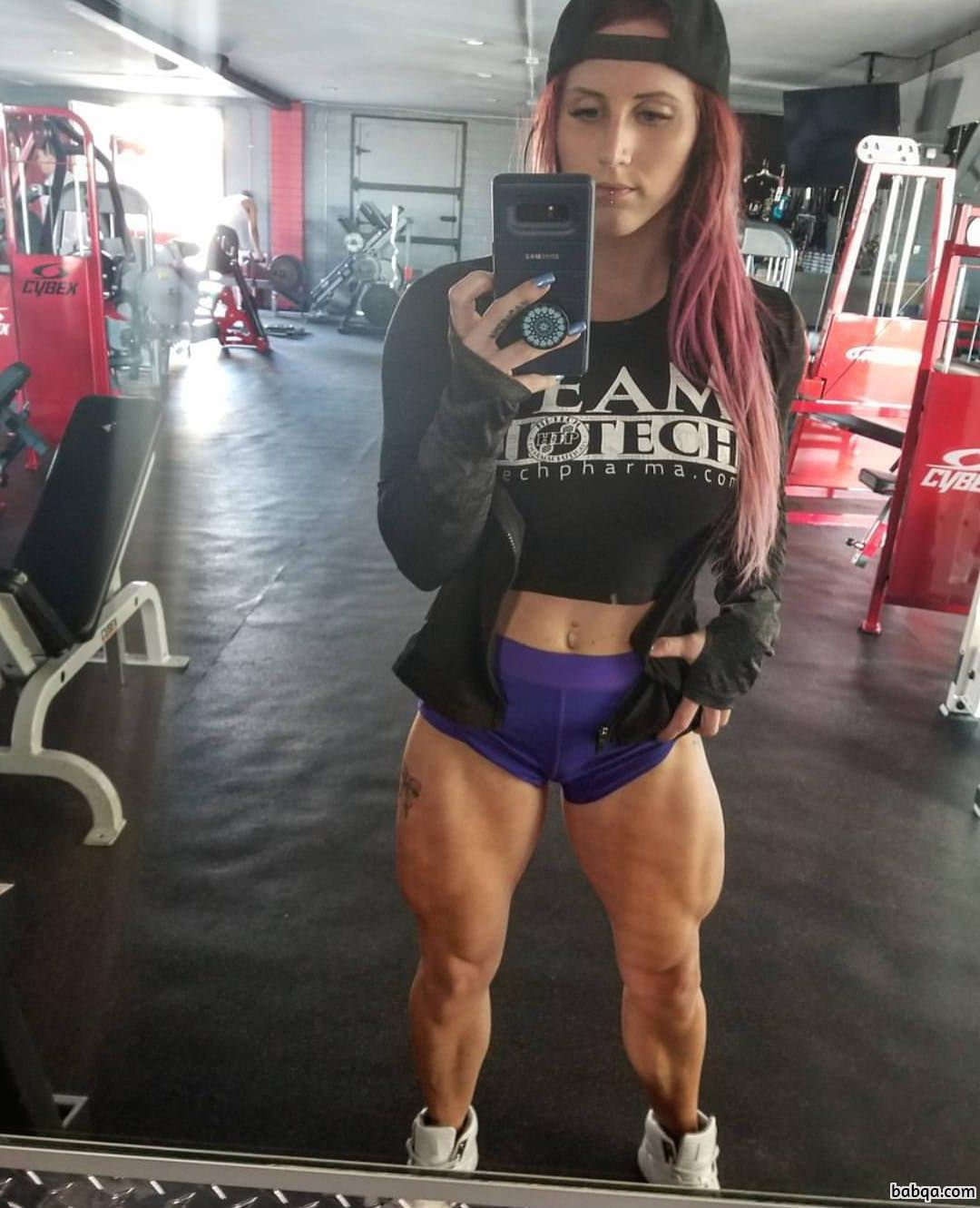 awesome chick with muscular body and muscle legs image from tumblr