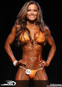 hottest female with muscular body and toned legs pic from flickr