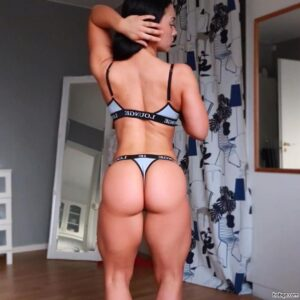 hottest woman with fitness body and toned ass post from tumblr