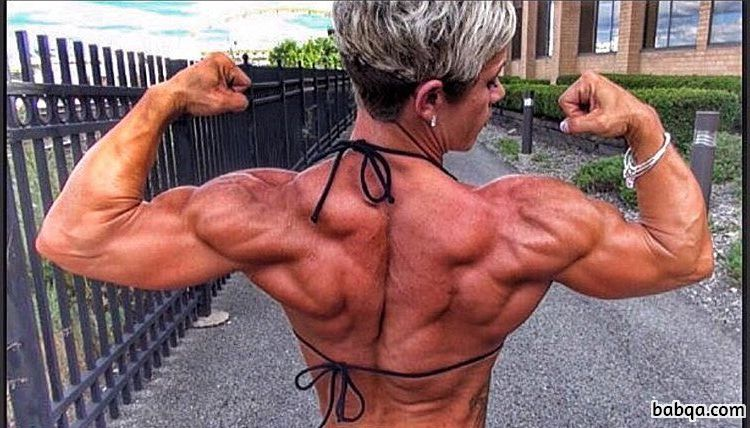 hot babe with fitness body and toned biceps repost from insta