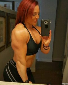 beautiful female bodybuilder with muscular body and muscle booty image from flickr