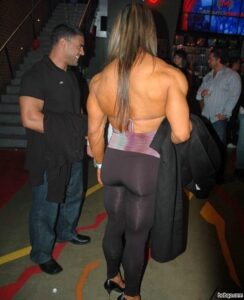 hottest chick with muscle body and muscle arms post from facebook