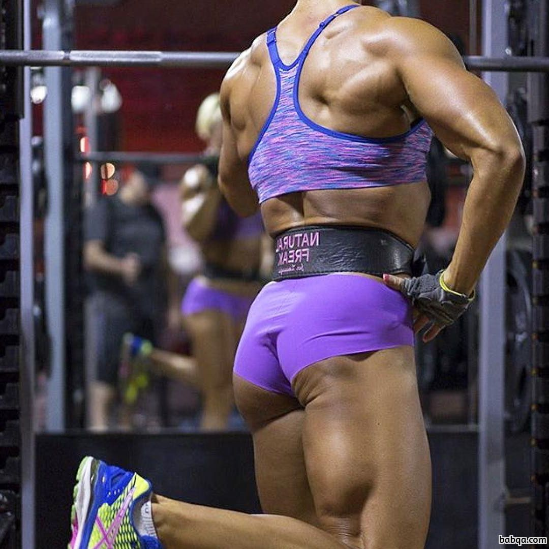 beautiful chick with strong body and toned biceps pic from facebook