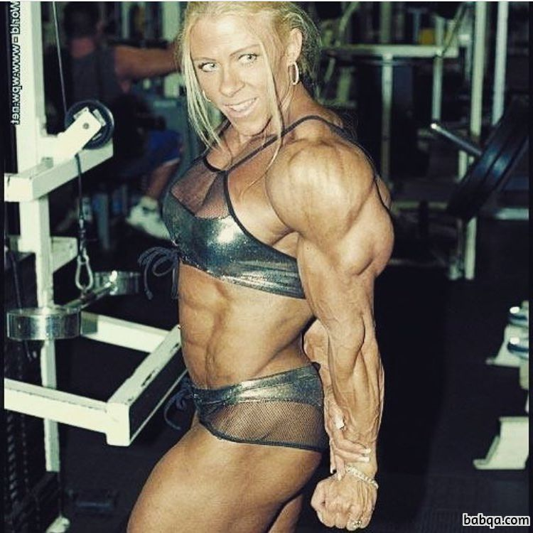 perfect woman with muscular body and muscle bottom pic from linkedin