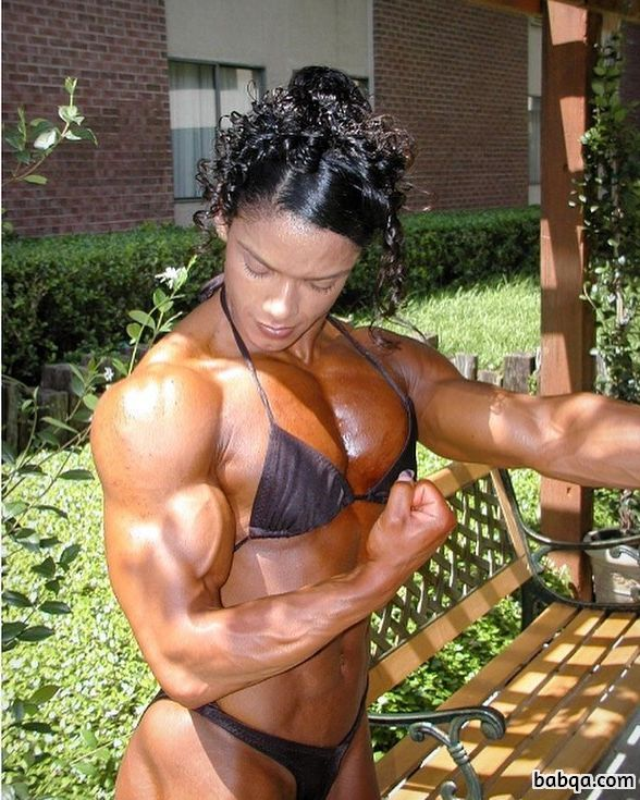 spicy girl with muscular body and toned arms repost from tumblr