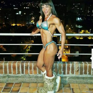 hot chick with muscular body and toned legs repost from linkedin