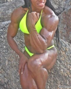 sexy lady with strong body and toned bottom image from facebook