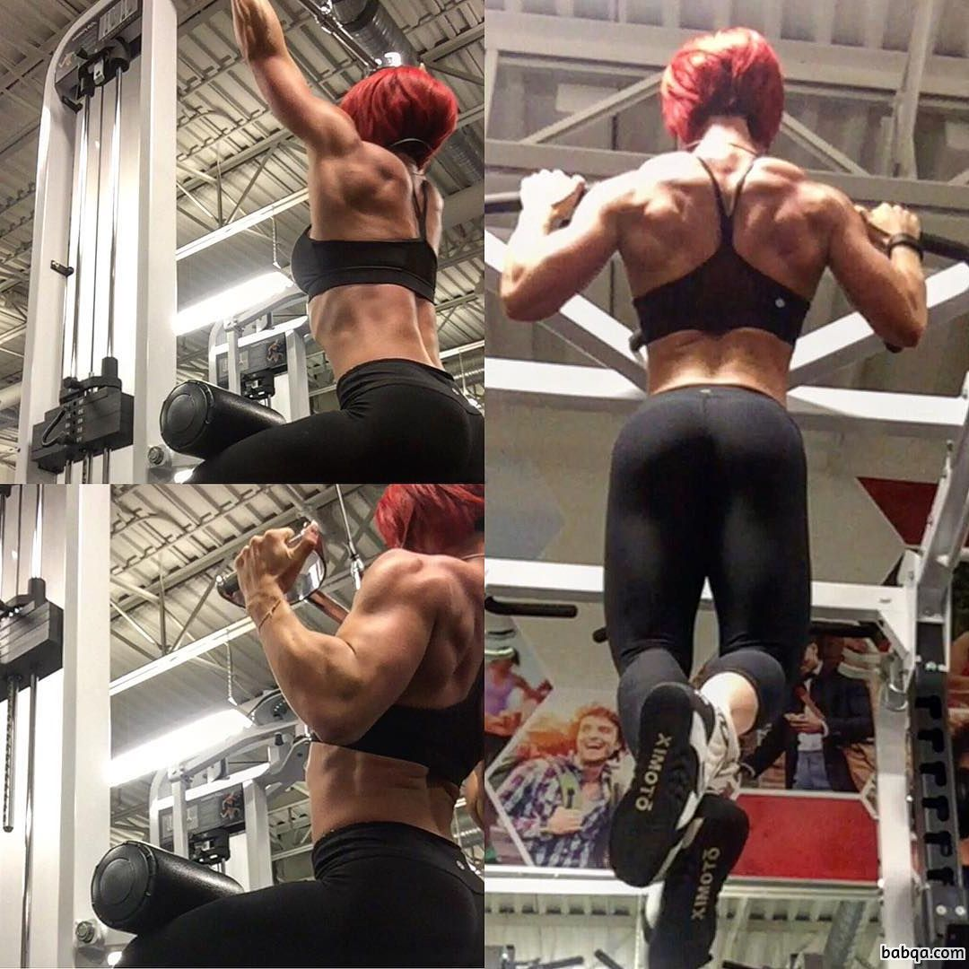 beautiful chick with strong body and muscle bottom photo from facebook
